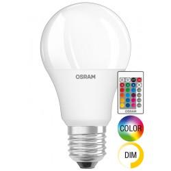 OSRAM LED STAR + RGBW REMOTE CLASSIC A 60 Możliwość przyciemnienia  E27