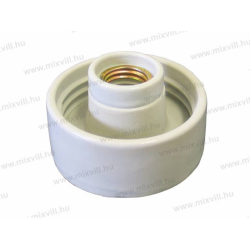 CP803 Smukły uchwyt lampy z porcelaną