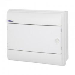 Rozdzielnica Hermetyczna RHp-12/B (białe drzwi ABS), IP65