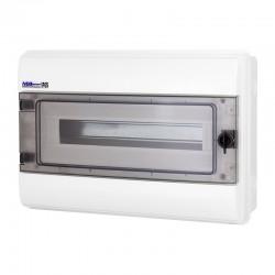 Rozdzielnica Hermetyczna RHp-18 (drzwi transparentne PC), IP65