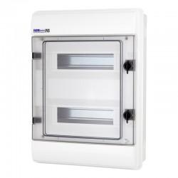 Rozdzielnica Hermetyczna RHp-24 (drzwi transparentne PC), IP65