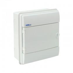 Rozdzielnica Hermetyczna RHp-8/B (białe drzwi ABS), IP65