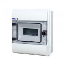 Rozdzielnica Hermetyczna RHp-8 (drzwi transparentne PC), IP65