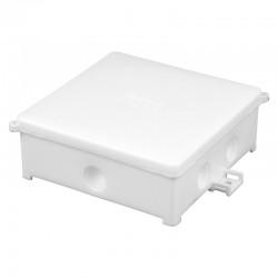 Puszka instalacyjna PIN 100/B, <br />Kolor: biały, z dławikami, IP44
