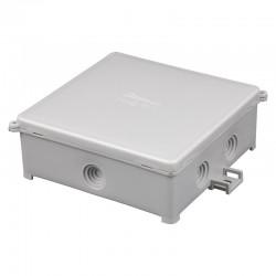 Puszka instalacyjna natynkowa PIN 100/S, <br />Kolor: szary, IP44