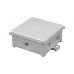 Puszka instalacyjna natynkowa PIN 80/S, <br />Kolor: szary, IP44