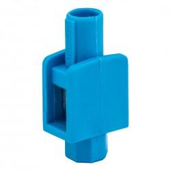 Zacisk Pojedynczy niebieski 1 x 1-4mm2, 400V