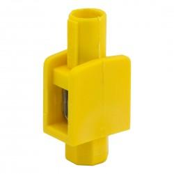 Zacisk Pojedynczy żółto-zielony 1 x 1-4mm2, 400V