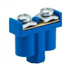 Zacisk Podwójny niebieski 2 x 1-4mm2, 400V