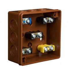 Puszka Instalacyjna VP-03 Z zaciskami 1-4 mm, Dekiel klik-klak, IP55