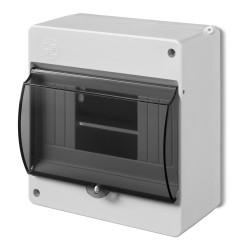 MINI obudowa natynkowa typ S 6-mod. z szybą