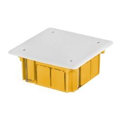 Puszka p/t do ścian karton gips SAMOGASNĄCA INSTALL-BOX 105x105x50