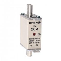 N Wkładka bezpiecznikowa Gr.000 20A AC 500V gG