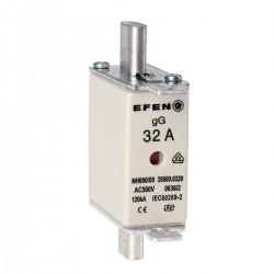 N Wkładka bezpiecznikowa Gr.000 32A AC 500V gG