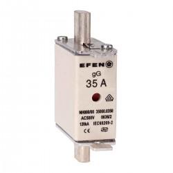 N Wkładka bezpiecznikowa Gr.000 35A AC 500V gG