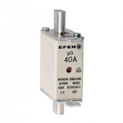 N Wkładka bezpiecznikowa Gr.000 40A AC 500V gG