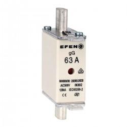 N Wkładka bezpiecznikowa Gr.000 63A AC 500V gG