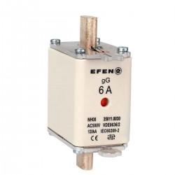 N Wkładka bezpiecznikowa Gr.00 6A AC 500V gG