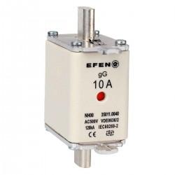 N Wkładka bezpiecznikowa Gr.00 10A AC 500V gG