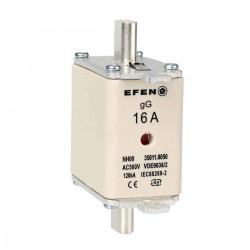 N Wkładka bezpiecznikowa Gr.00 16A AC 500V gG