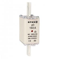 N Wkładka bezpiecznikowa szybka Gr.00 160A AC 500V gF