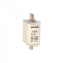N Wkładka bezpiecznikowa szybka Gr.00 16A AC 500V gF