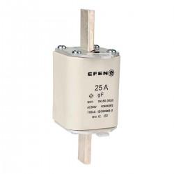 N Wkładka bezpiecznikowa szybka Gr.00 25A AC 500V gF