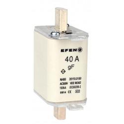 N Wkładka bezpiecznikowa szybka Gr.00 40A AC500V gF