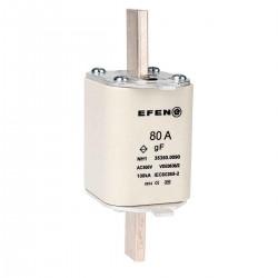 N Wkładka bezpiecznikowa szybka Gr.00 80A AC 500V gF
