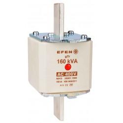 N Wkładka bezpiecznikowa Gr.3 160kVA AC 400V gTr