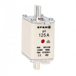 N Wkładka bezpiecznikowa Gr.2 125A AC 500V gR