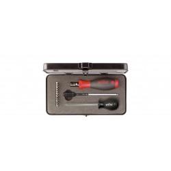 Wkrętak dynamometryczny TorgueVario-S electric w zestawie zestaw mieszany 13-cz. z mechanizmem regulacji w kasecie