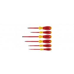 Zestaw wkrętaków SoftFinish electric płaski, Phillips 6-cz.