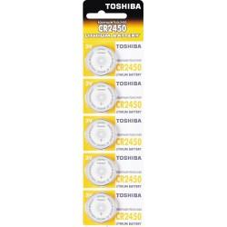 Toshiba Bateria litowa CR2450 3V SPECIAL 5 sztuk