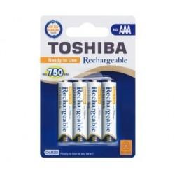Akumulator Ni-MH HR03 / AAA R2U 750mAh TNH-03AC 4BP Toshiba