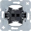 Łączniki dwuklawiszowe przyciskowe