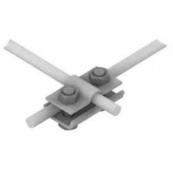 Złącze przelotowe pojedynczo-krzyżowe 2xM8 /OG/