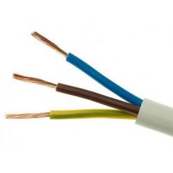 Przewód OMY 3x0,5 300/300V H03VV-F (linka)