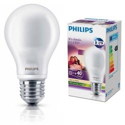 ŻARÓWKA PHILIPS LED bulb 6W-40W E27  ciepło-biała