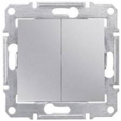 Sedna Łącznik świecznikowy 10AX aluminium IP20 SDN