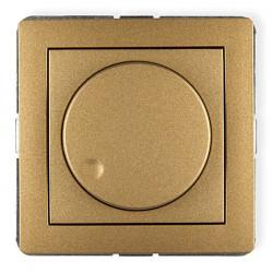 Mechanizm elektronicznego regulatora oświetlenia przyciskowo-obrotowego