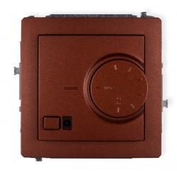 Mechanizm elektronicznego regulatora temperatury z czujnikiem podpodłogowym