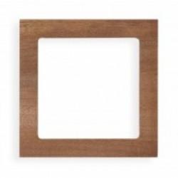 Ramka uniwersalna 1-krotna - drewno (Machoń)