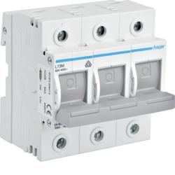 Rozłącznik bezpiecznikowy poziomy D02 3P 63A
