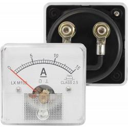 Miernik analogowy amperomierz kwadratowy 15A z bocznikiem,