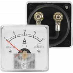 Miernik analogowy amperomierz kwadratowy 20A z bocznikiem,