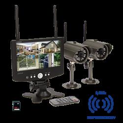 4-kanałowy, bezprzewodowy system do monitoringu