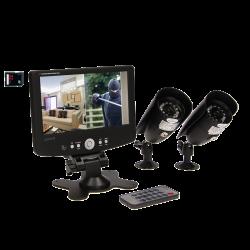 2-kanałowy, przewodowy system do monitoringu