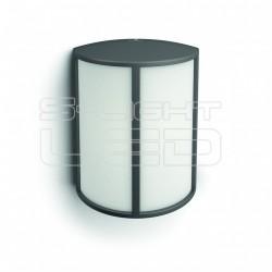 Stock wall lantern anthracite 1x6W 230V
