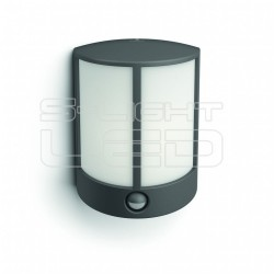 Stock IR wall lantern anthracite 1x6W